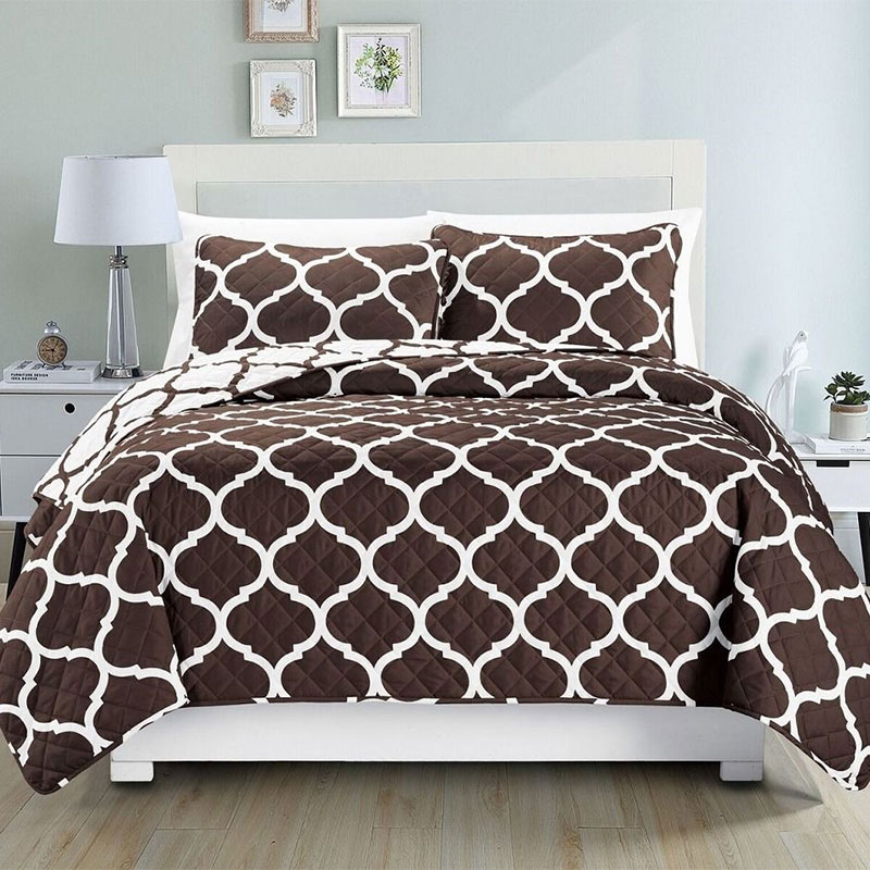 China Bedding Set Print Bedspread