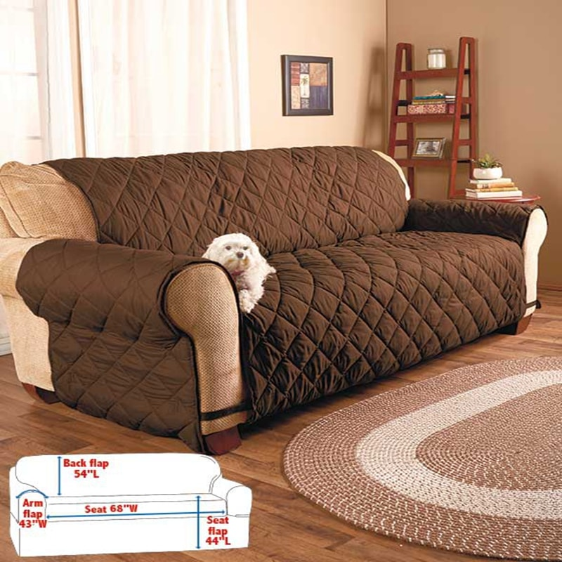 quilted pet furniture protectore