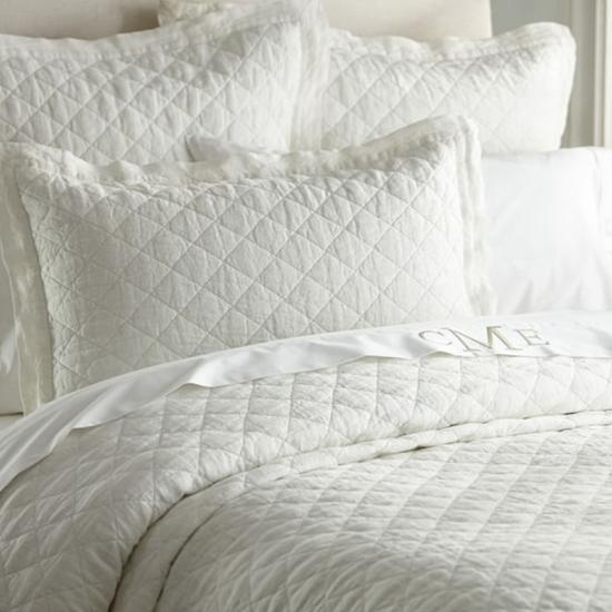 oversized effen 3-delige quilt set van hj home fashion
