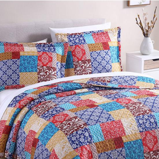 katoenen patchwork quilts