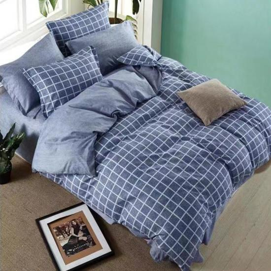 plaid bedlinnen set